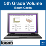 5th grade Volume Review: Boom Cards