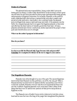 5th grade author's purpose