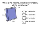 5th grade common core math BINGO