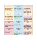 5th grade common core readers response task cards