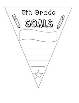 5th grade goals banner