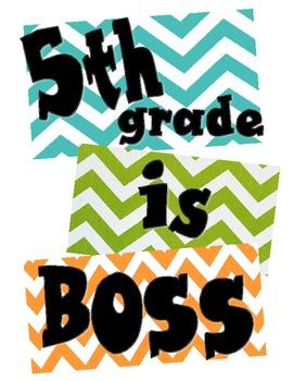 5th grade is boss