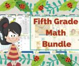 5th grade math / Fifth grade math center