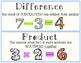 5th grade math vocab (FREEBIE!)