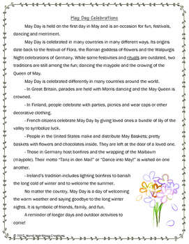 May 5th - Close Read & Comprehension Passages w/Complex Questions