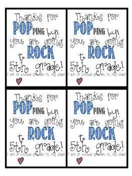 5th grade poprocks (or popcorn) FREEBIE!