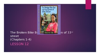 5th grade powerpoint SITC LITCAMP Lesson 12 Broken Bike Boy Chapters 1-4