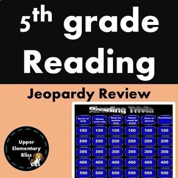 5th grade reading state test prep BUNDLE