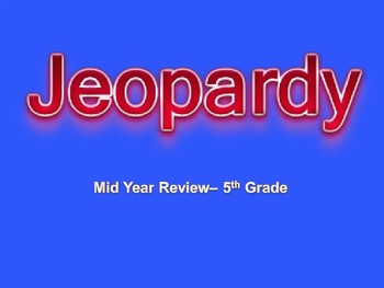 5th grade review