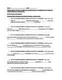 5th grade spelling / homophone review