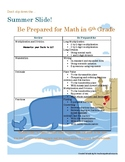 5th or 6th Grade Mixed Review and Summer Study Guide enVision Math
