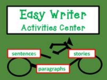 Easy Writer Activities Center