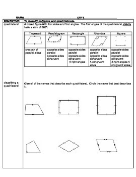 5th/6th Grade Math Cornell Student Guided Notes