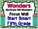 5th Grade Wonders Start Smart Focus Wall