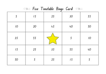 5x Bingo