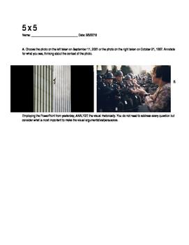 5x5 Photo Analysis