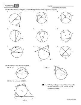 6-1 Properties of Circles