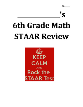 6.1 STAAR Review - Graphing on the Coordinate Plane
