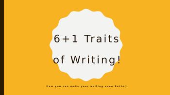 6+1 Traits Powerpoint Presentation