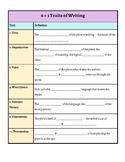 6+1 Traits of Writing/Narrative Writing Interactive Notebook