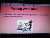 6 + 1 Traits of Writing SmartBoard Slides