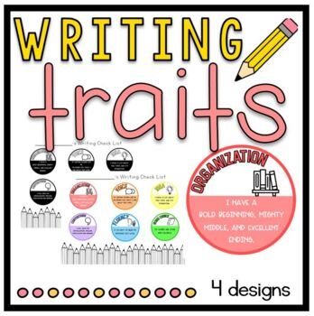 6+1 Writing Trait Posters