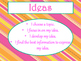 6+1 Writing Traits  Anchor Charts Signs/Posters (Tangerine