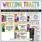 6+1 Writing Traits Posters & Bookmarks