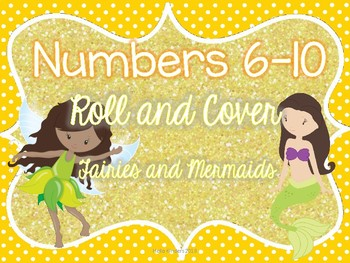 6-10 Fairies and Mermaids Roll and Cover