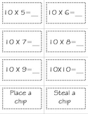 6 - 10 Multiplication Sequence Game