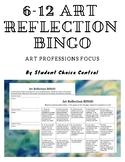 6-12 Art Reflection BINGO Menu