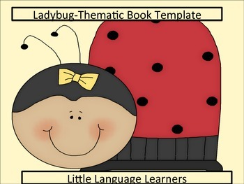 ESL Resources: Ladybug-Thematic Writing Template-ELL Newcomers Too