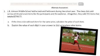 6.2 Alternate Assessment for Sixth Grade EngageNY Eureka Math Module 2