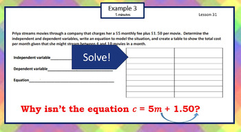 6.4.H Math Module 4 Topic H EngageNY Eureka 6th Sixth Applications of Equations