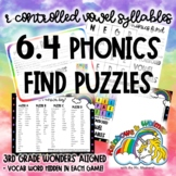6.4 Phonics Find - R-Controlled Vowel Syllables (aligned-3