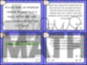 6.4B: Ratios & Rates STAAR Test-Prep Task Cards (6.RP.3)