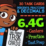 Math TEK 6.4G ★ Fractions, Decimals, & Percents ★ 6th Grade STAAR Math Review