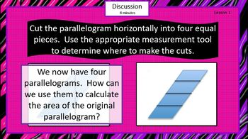 6.5.A Math Module 5 Topic A EngageNY Eureka 6th Area of Triangles, Quadrilateral
