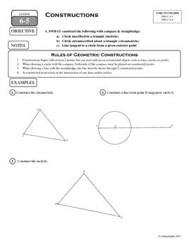 6-5 Constructions