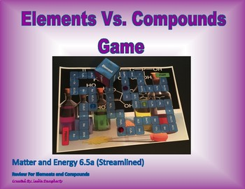 6.5c Elements Vs. Compounds Board Game