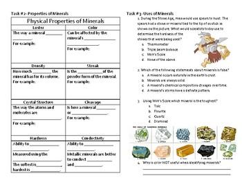 6.6 C Minerals- Explain