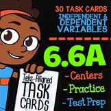 Math TEK 6.6A ★ Independent & Dependent Variables ★ 6th Grade STAAR Math Review