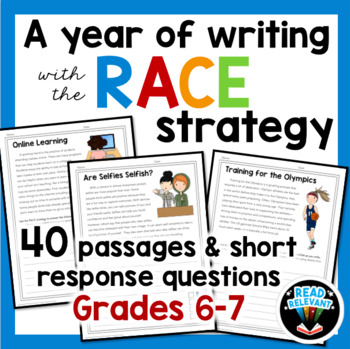 6-7th Grade Reading and Writing Bundle