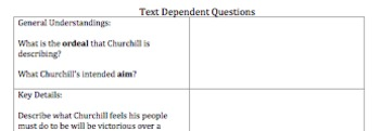 6-8 Close Reads Packet w/ 13 texts, text dependent questions, & ref. guide