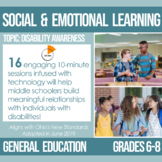 6-8 Disability Awareness Plans for Social and Emotional Learning