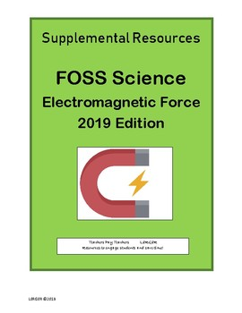 6-8 FOSS Electromagnetic Force Supplement (Pages 25-30)