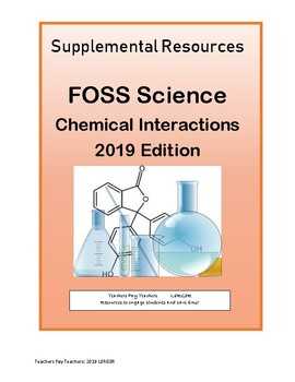 6-8 FOSS NGSS Chemical Interactions 2019 Edition Science