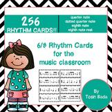 6/8 Meter Rhythm Cards {Compound Meter}