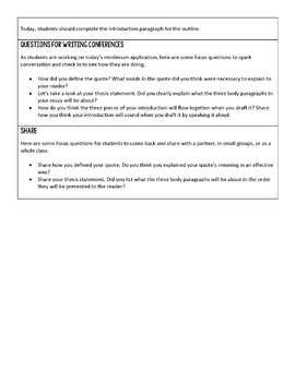 6-8 Writing Workshop Units Mini-Bundle (Option 3)