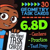 Math TEK 6.8D ★ Area & Volume ★ 6th Grade STAAR Test-Prep Task Cards